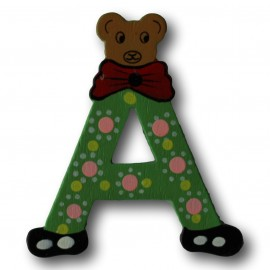 Houten letter A